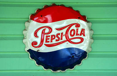 Pepsi Cap Poster by David Lee Thompson