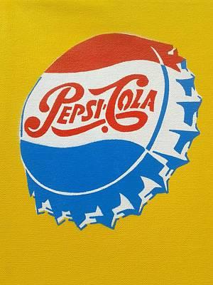 Pepsi Cola Americana Poster by Leon Keay