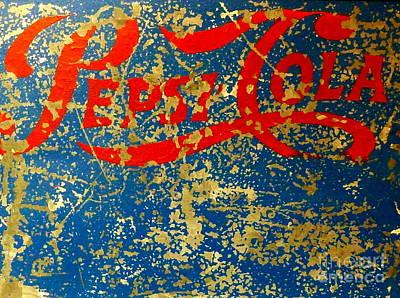 Pepsi Poster by Newel Hunter