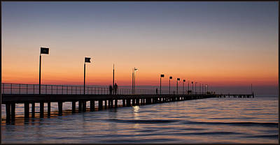 Poster featuring the photograph Perfect Sunset by Kim Andelkovic