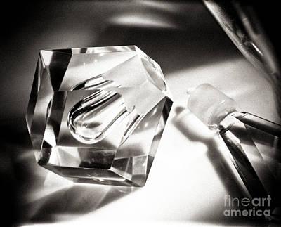 Art Deco Perfume Bottle Poster