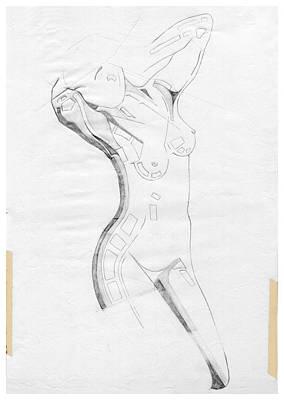 Perfume Of Venus - Homage Rodin Poster