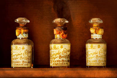 Perfumery - Perfume Poster by Mike Savad