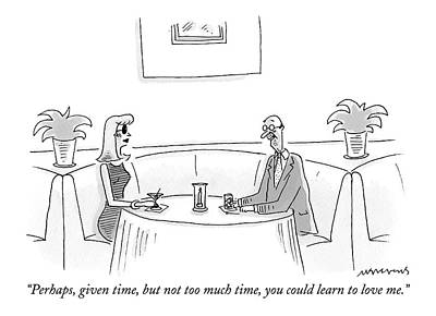 Perhaps, Given Time, But Not Too Much Time Poster by Mick Stevens