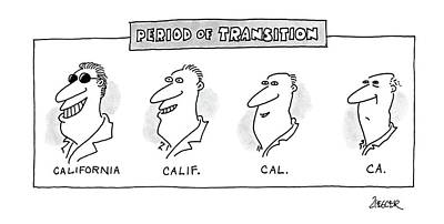 Period Of Transition Poster