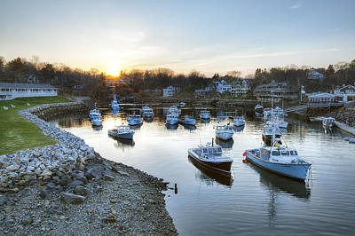 Perkins Cove Poster by Eric Gendron