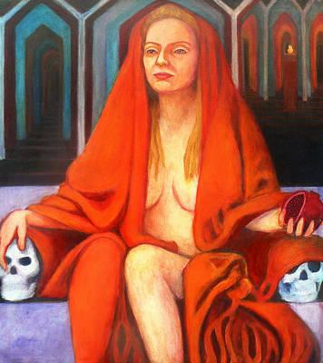 Persephone As Queen  Poster