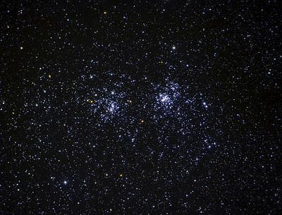 Perseus Double Cluster Ngc 869 Poster