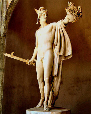 Perseus With The Head Of Medusa  Poster by Antonio Canova