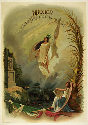 Personification Of Mexico Poster by British Library