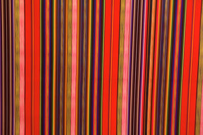 Peru, Colorful Fabric Poster by Jaynes Gallery
