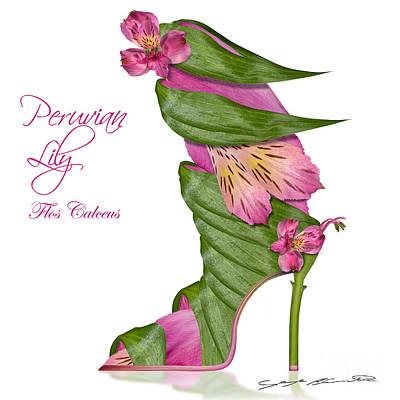 Peruvian Lily Flos Calceus Poster