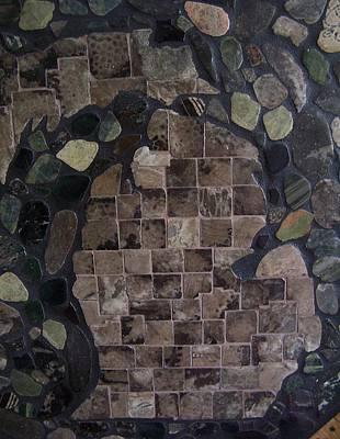 Pestoskey Stone Michigan Map Poster