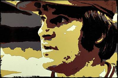 Pete Rose Portrait Art Poster