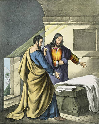 Peter And John At The Sepulchre Poster