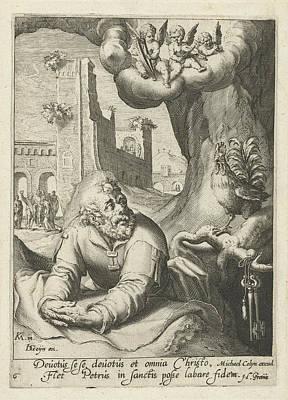 Peter As Repentant Sinner, Hugo De Groot Poster