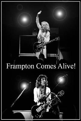 Peter Frampton Live Poster