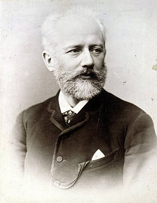 Peter Ilich Tchaikovsky (1840-1893) Poster by Granger