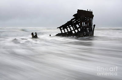 Peter Iredale Shipwreck Oregon 2 Poster