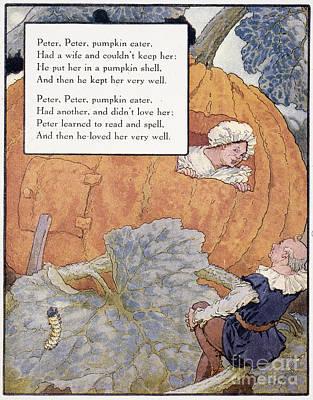 Peter Pumpkin Eater Poster