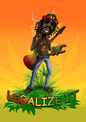 Peter Tosh - Legalize It Poster