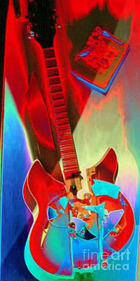 Pete's Guitar Poster