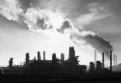 Petrochemical Plant Poster