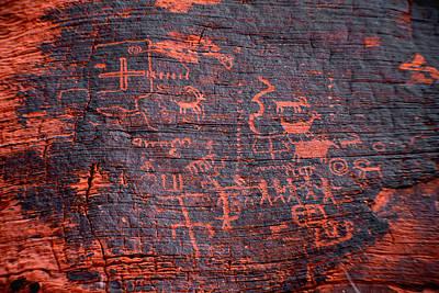 Petroglyphs Poster by Gunter Nezhoda