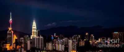 Petronas Lights Poster