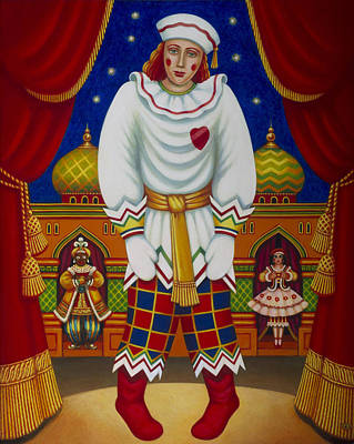 Petrushka, 2011 Oils & Tempera On Panel Poster by Frances Broomfield