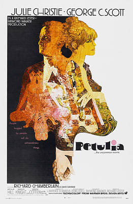 Petulia, Us Poster Art, From Left Poster