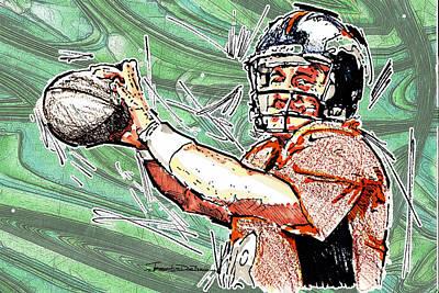 Peyton Manning II Poster by Jerrett Dornbusch