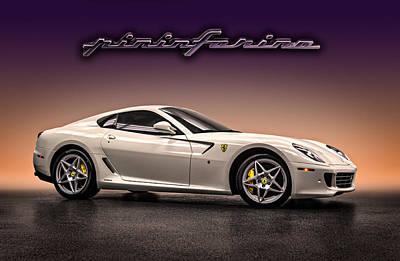 Pf Flyer - Ferrari 599 Poster by Douglas Pittman