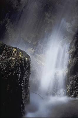 Pfeiffer Falls Closeup Poster