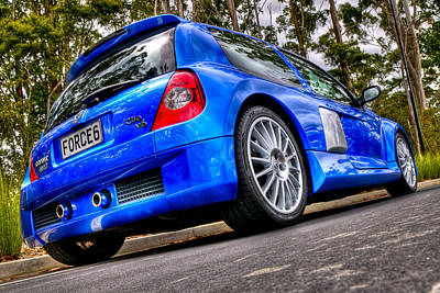 Phase 2 Clio V6 Poster by motography aka Phil Clark