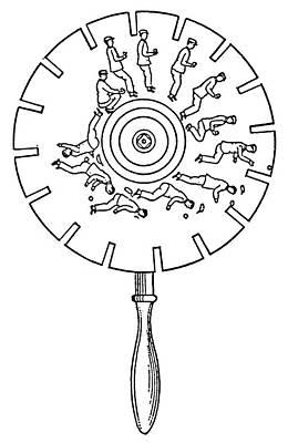 Phenakistoscope Poster by Granger