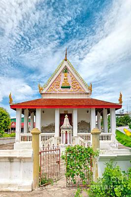 Phetchaburi Temple 07 Poster by Antony McAulay