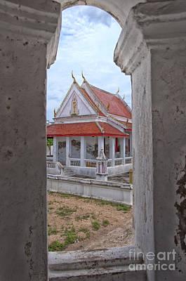 Phetchaburi Temple 08 Poster by Antony McAulay