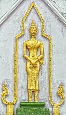 Phetchaburi Temple 11 Poster by Antony McAulay