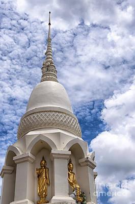 Phetchaburi Temple 16 Poster by Antony McAulay