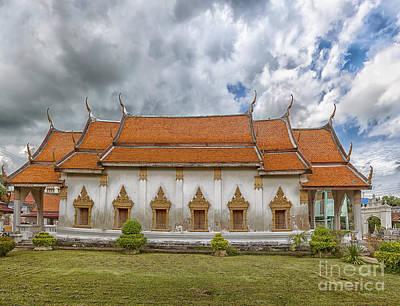 Phetchaburi Temple 21 Poster by Antony McAulay
