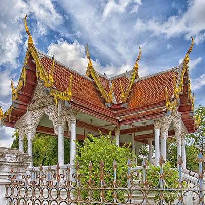Phetchaburi Temple 22 Poster by Antony McAulay
