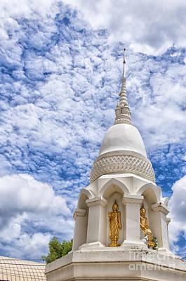 Phetchaburi Temple 24 Poster by Antony McAulay