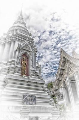 Phetchaburi Temple 36 Poster by Antony McAulay