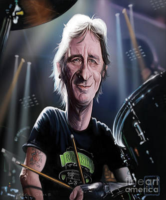 Phil Rudd Poster by Andre Koekemoer