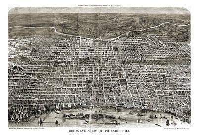 Philadelphia - Pennsylvania - 1872 Poster by Pablo Romero