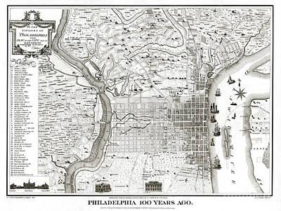 Philadelphia - Pennsylvania - United States - 1875 Poster by Pablo Romero