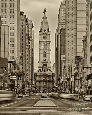 Philadelphia City Hall 2 Poster