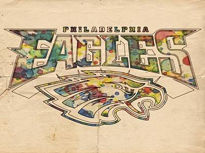 Philadelphia Eagles Poster Art Poster