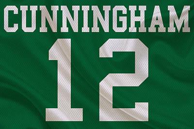 Philadelphia Eagles Randall Cunningham Poster by Joe Hamilton